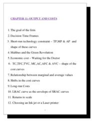 ECON101 Lecture Notes - Inkjet Printing, Fixed Cost, Marginal Cost