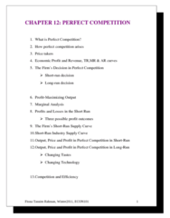 ECON101 Lecture Notes - Marginal Revenue, Marginal Cost, Opportunity Cost