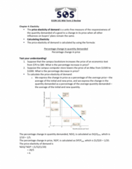 ECON101 Study Guide - Midterm Guide: Takers, Variable Cost, Monopolistic Competition