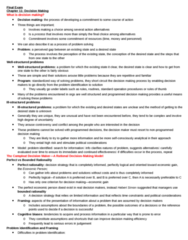Business Administration 3301K Study Guide - Final Guide: Observability, Job Enrichment, Buck Passing