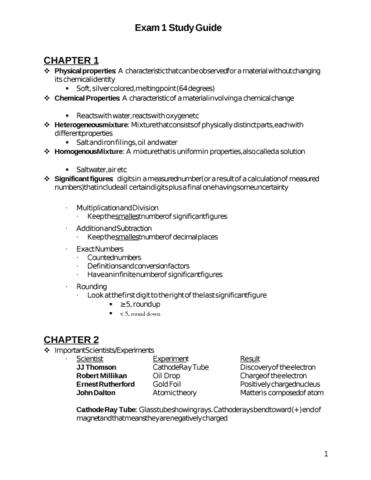 chem 130 exam 1 study guide oneclass rh oneclass com