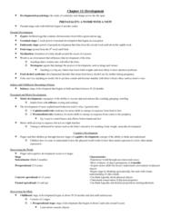 PSYCO105 Chapter Notes -Egocentrism, Agreeableness, Impulsivity
