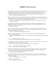 ITM 315 Chapter Notes - Chapter 6: Encrypting File System, Voting Machine, Active Directory