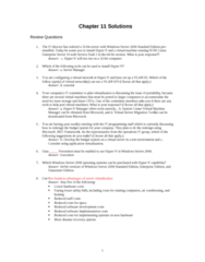 ITM 315 Chapter Notes - Chapter 12: System Center Virtual Machine Manager, Storage Area Network, Microsoft Virtual Server