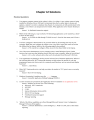 ITM 315 Chapter Notes - Chapter 15: Extensible Application Markup Language, System Center Configuration Manager, Wake-On-Lan