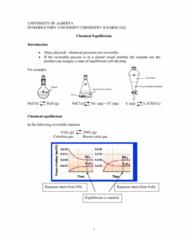 CHEM102 Lecture Notes - Reaction Quotient, Ideal Gas Law, Equilibrium Constant