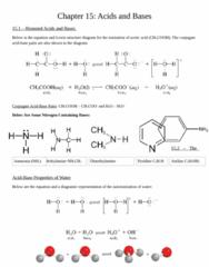 CHEM 1F92 Chapter Notes - Chapter 15: Alkali Metal, Dimethylamine, Methylamine