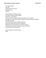 CD-0068 Lecture Notes - Cyberbullying