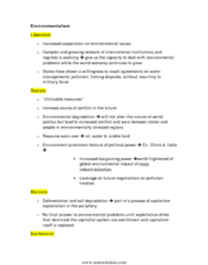 POL114H5 Study Guide - Economic Liberalism, Multinational Corporation, Environmental Degradation