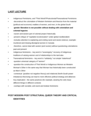 PSYC 1001 Lecture Notes - Gender Binary, Queer Theory, Deconstruction