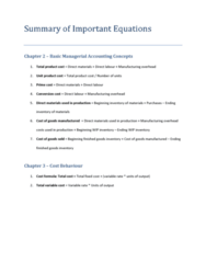 ACC 406 Study Guide - Stabilisation Force In Bosnia And Herzegovina, Safety Stock, Net Present Value