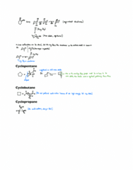 CHEM 236 Lecture Notes - Lecture 15: Cyclobutane