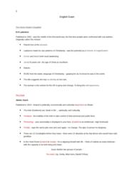 English 1022E Study Guide - Final Guide: Spondee, Trochee, Dimeter