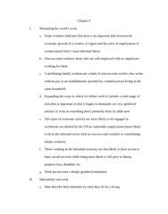 SOC 0851 Chapter Notes - Chapter 9: Informal Sector, Queueing Theory, Glass Ceiling