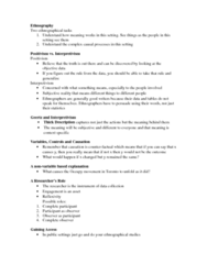 SOC200H1 Lecture Notes - Lecture 10: Antipositivism, None Of The Above