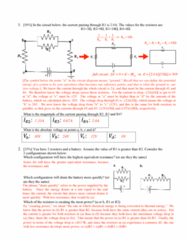 PHY 7B Study Guide - Quiz Guide: Circuit Diagram