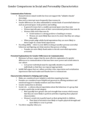 PSYC 3480 Chapter Notes - Chapter Midterm: Operational Definition, Relational Aggression, Postpartum Depression