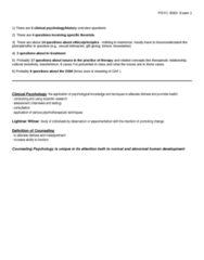 PSYC 3083 Study Guide - Midterm Guide: Counseling Psychology, Sigmund Exner, Positiva Records