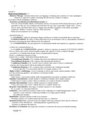 PSYC 3083 Study Guide - Final Guide: Francine Shapiro, Bes, E-Selectin