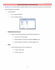 ECON 2010 Study Guide - Final Guide: Price Ceiling, Demand Curve, Gdp Deflator