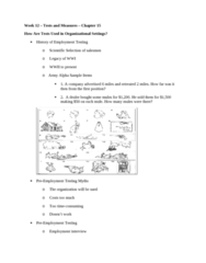 PSYC 3020 Study Guide - Quiz Guide: Job Performance