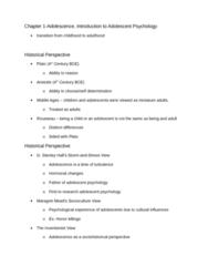 PSYC 2078 Chapter Notes - Chapter 1: Acne Vulgaris, Stereotype, Lev Vygotsky