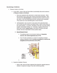 PSYC 4035 Study Guide - Midterm Guide: Nucleus Accumbens, Yokel, Pimozide