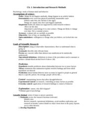 PSYC 2000 Study Guide - Alcohol By Volume, Behaviorism, Psychoanalysis