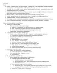 PSYC 2078 Study Guide - Midterm Guide: Representative Democracy, Industrial Revolution, Middle Ages