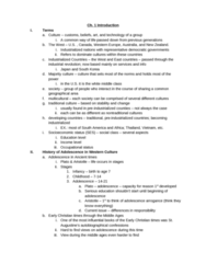 PSYC 2078 Test 1 Review (got the best grade in class)