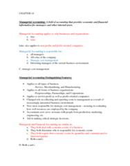 ACCT 2000 Study Guide - Midterm Guide: Long-Range Planning, Gross Profit, Contribution Margin