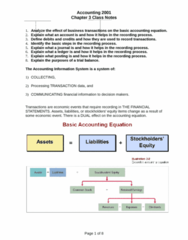ACCT 2000 Chapter Notes - Chapter 3: Trial Balance, The Ledger, Retained Earnings
