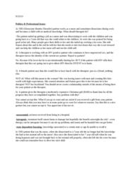 PSYC 3083 Study Guide - Quiz Guide: Impulsivity, Pedophilia, Psych