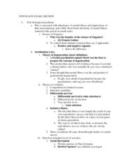 PSYC 4039 Study Guide - Midterm Guide: Neurosyphilis, Neuroanatomy, Psychopharmacology