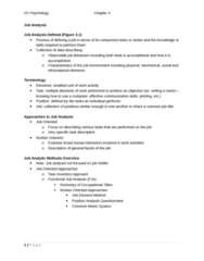PSYC 3050 Study Guide - Job Evaluation, Performance Appraisal, Interpersonal Communication