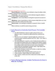 PSYC 2040 Study Guide - Ingratiation