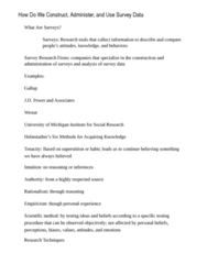 PSYC 3020 Study Guide - Midterm Guide: Goal Setting, Cluster Sampling, Sample Size Determination