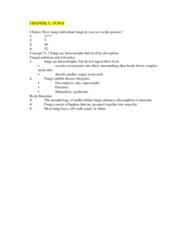 BIOL 1002 General Biology Ch 31 Ch 29 Test 2