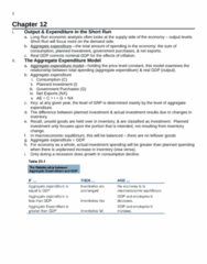 ECON 2010 Lecture Notes - Potential Output, Exchange Rate, Macroeconomics