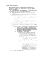 ANTH 1120 Chapter Notes - Chapter 3: Neoliberalism, Participant Observation, Environmental Anthropology