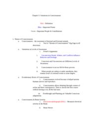 PSYC 1001 Study Guide - Ernest Hilgard, Reticular Formation, Central Nervous System
