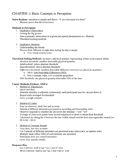 PSY 3108 Study Guide - Midterm Guide: Aromatherapy, Microvillus, Proprioception
