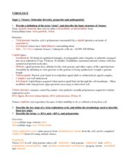 MICB 202 Study Guide - Organelle, Plaque-Forming Unit, Seroconversion