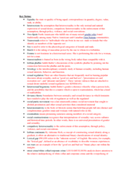 WMST 300 Study Guide - Final Guide: Adrienne Rich, Cointelpro, Audre Lorde