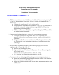 ECON 101 Study Guide - Deadweight Loss, Economic Surplus