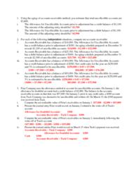 COMMERCE 1BA3 Study Guide - Accounts Receivable, Bank Statement, Storage Technology Corporation