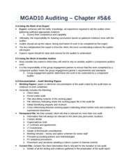MGAD10H3 Chapter Notes - Chapter 5-6: Engagement Letter, Organizational Chart, Flowchart