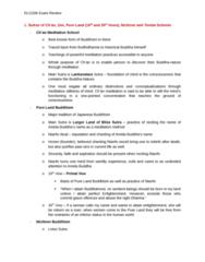 RLG206H5 Study Guide - Final Guide: Stra, Dharma, Nianfo