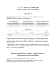 PSY 335 Chapter Notes - Chapter 1: Anger Management, Speech-Language Pathology, Menopause
