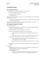 SOCA01H3 Chapter Notes -Social Darwinism, Scientific Revolution, Social Forces